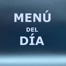 Menú del día
